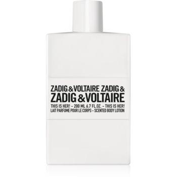 Zadig & Voltaire This is Her! lapte de corp pentru femei imagine produs