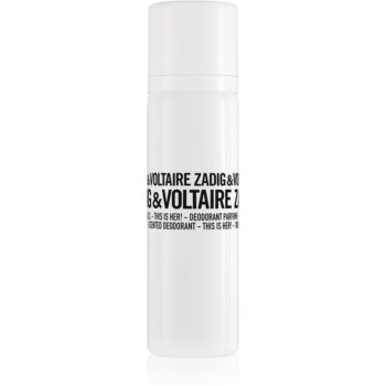 Zadig & Voltaire This is Her! deodorant spray pentru femei