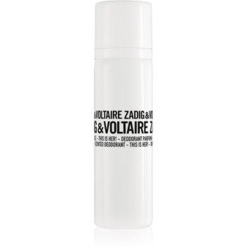 Zadig & Voltaire This is Her! deodorant spray pentru femei imagine produs