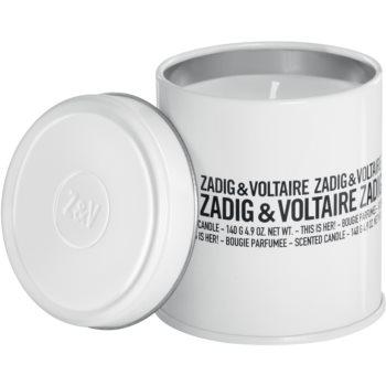 Zadig & Voltaire This Is Her! lumanari parfumate pentru femei 140 ml