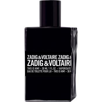 Zadig & Voltaire This is Him! Eau de Toilette pentru bãrba?i imagine produs