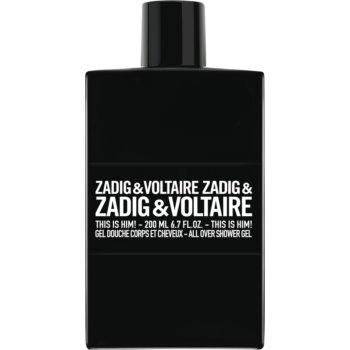 Zadig & Voltaire This is Him! gel de du? pentru bãrba?i imagine produs