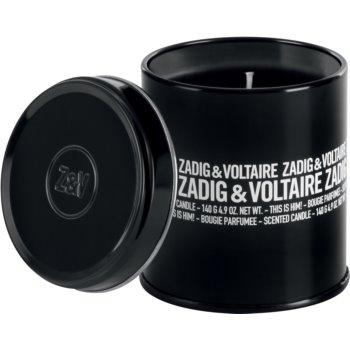 Zadig & Voltaire This is Him! lumânare parfumată pentru barbati 140 ml