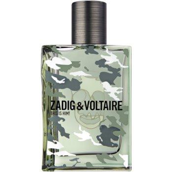 Zadig & Voltaire This is Him! No Rules Capsule Collection Eau de Toilette pentru bărbați