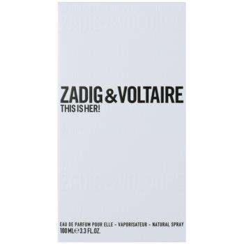 Zadig & Voltaire This Is Her! Eau de Parfum für Damen 1