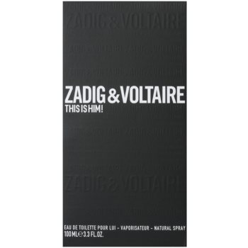 Zadig & Voltaire This Is Him! Eau de Toilette für Herren 1