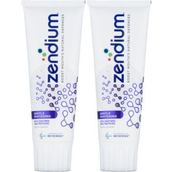 Zendium Gentle Whitening pasta de dinti cu efect de albire  2 x 75 ml