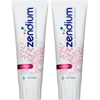 Zendium BioGum Pasta de dinti protectie complexa duo  2 x 75 ml