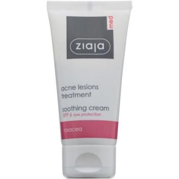 Ziaja Med Acne Lesions crema calmanta si hidratanta SPF 6  50 ml