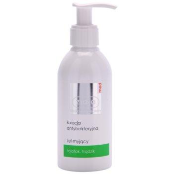 Fotografie Ziaja Med Antibacterial Care čisticí gel pro mastnou a problematickou pleť 200 ml
