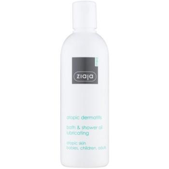 Ziaja Med Atopic Dermatitis Care gel de duș și ulei de baie pentru pielea atopica la copii și adulți  270 ml