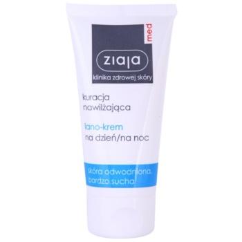 Ziaja Med Hydrating Care crema regeneratoare si hranitoare pentru pielea deshidratata si foarte uscata  50 ml