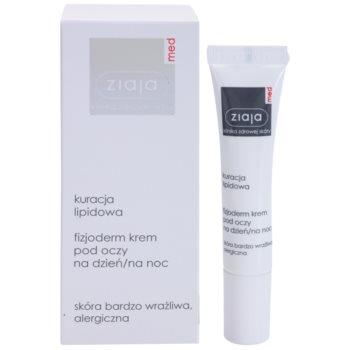 Ziaja Med Lipid Care physiologische Hautcreme für den Augenbereich für besonders empfindliche und allergiegeplagte Haut 1