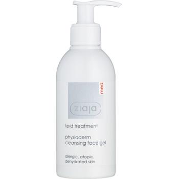 Ziaja Med Lipid Care gel fiziologic de curatare pentru alergie atopica cutanata  200 ml
