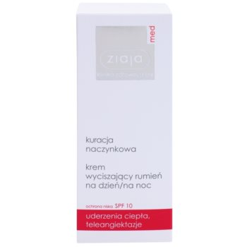 Ziaja Med Capillary Care Crema nutritiva si calmanta pentru pielea sensibila predispusa la roseata SPF 10 2