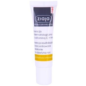 Ziaja Med Vitamin C & Hyaluronic Acid revitalisierendes Serum für müde Haut