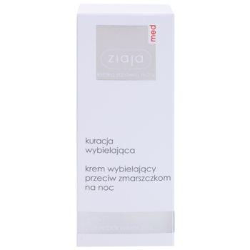 Ziaja Med Whitening Care Nachtcreme gegen Falten Für hyperpigmentierte Haut 2