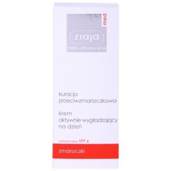 Ziaja Med Anti-Wrinkle Care glättende Aktiv-Creme zur Vereinheitlichung der Hautfarbe SPF 6 2