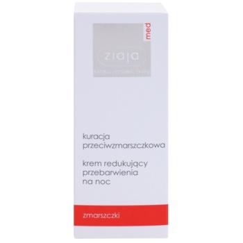 Ziaja Med Anti-Wrinkle Care crema de noapte iluminatoare cu efect antirid 2