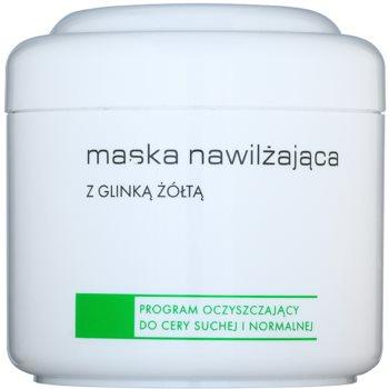 Ziaja Pro Cleansers Dry and Normal Skin vlažilna maska z rumeno ilovico