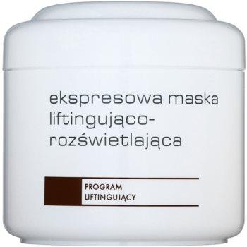 Ziaja Pro Lifting ekspresna posvetlitvena maska za učvrstitev kože