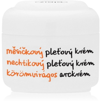 Ziaja Marigold crema de fata calmanta pentru piele uscata spre sensibila imagine produs