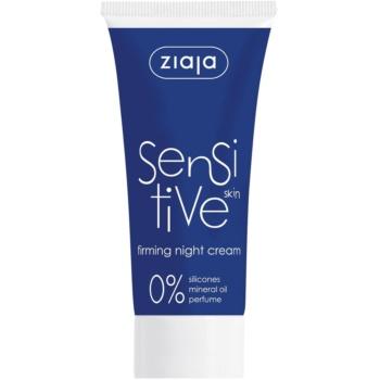 Ziaja Sensitive crema de noapte pentru fermitate pentru piele sensibila