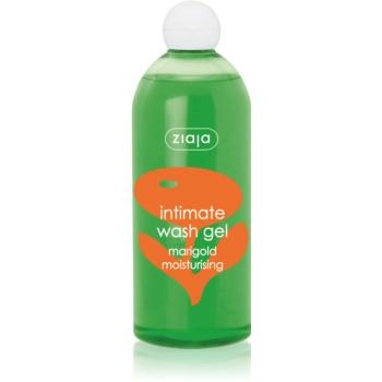 Ziaja Intimate Wash Gel Herbal gel pentru igiena intima cu efect de hidratare galbenele  500 ml