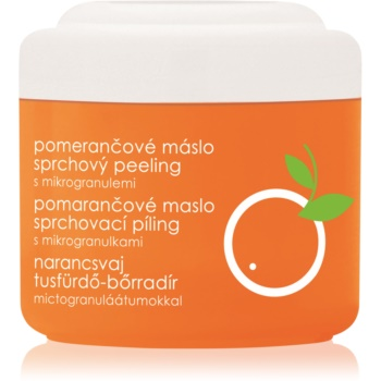 Ziaja Orange Butter gel de dus exfoliant poza