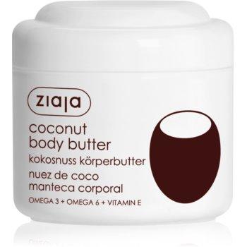 Ziaja Coconut unt pentru corp, hranitor