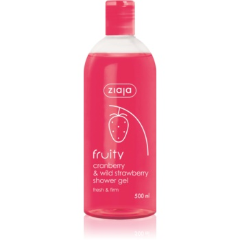 Ziaja Fruity Cranberry & Wild Strawberry gel de dus hidratant  500 ml