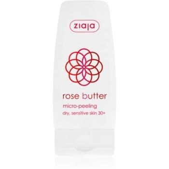 Ziaja Rose Butter crema exfolianta cu microgranule. 30+