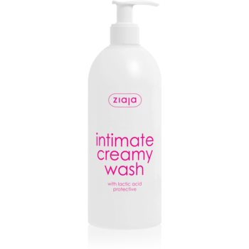 Ziaja Intimate Creamy Wash Gel delicat pentru igiena intima imagine produs
