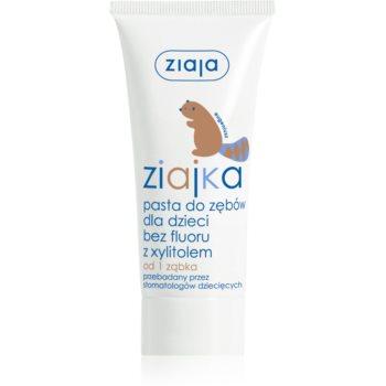 Ziaja Ziajka Gel pentru dintii copiilor fara flor  50 ml