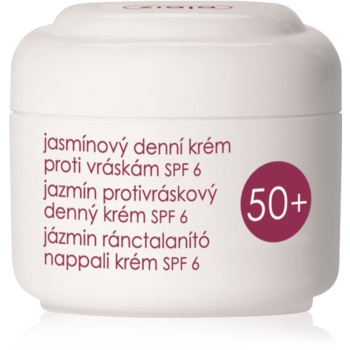 Ziaja Jasmine crema de zi anti-rid SPF 6  50 ml