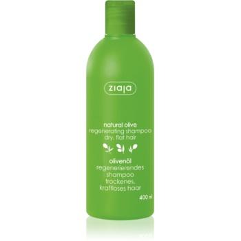 Ziaja Natural Olive sampon pentru regenerare pentru toate tipurile de par  400 ml