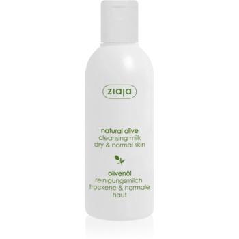Ziaja Natural Olive lapte demachiant cu extras din masline  200 ml