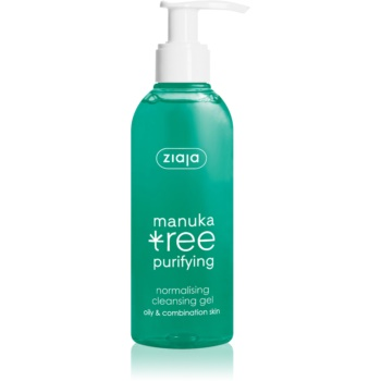Ziaja Manuka Tree Purifying gel de curatare pentru ten mixt si gras  200 ml