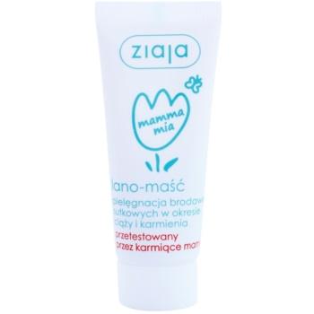 Ziaja Mamma Mia unguent pe bază de lanolină pentru  mameloane pentru femei care alapteaza  15 g