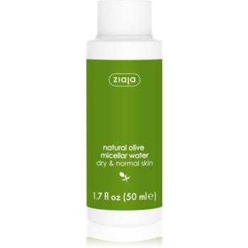 Ziaja Natural Olive apa cu particule micele pentru piele normala si uscata  50 ml