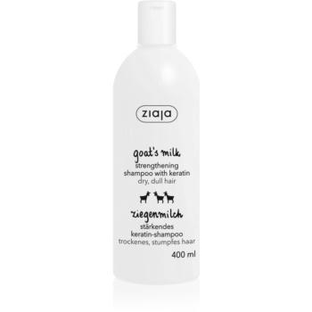Ziaja Goat's Milk sampon fortifiant pentru par uscat si deteriorat  400 ml