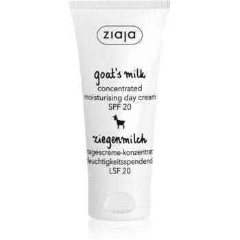 Ziaja Goat's Milk crema de zi hidratanta SPF 20