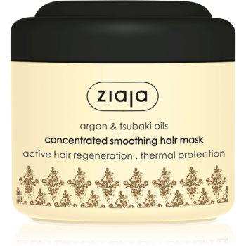 Ziaja Argan Oil masca pentru netezire pentru par uscat si deteriorat  200 ml