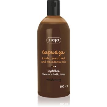 Ziaja Cupuacu gel de duș cristalin și săpun de baie  500 ml