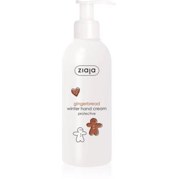 Ziaja Gingerbread crema protectoare pentru maini pentru piele uscata