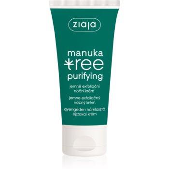 Ziaja Manuka Tree Purifying exfoliant crema de noapte pentru ten gras ?i mixt imagine produs
