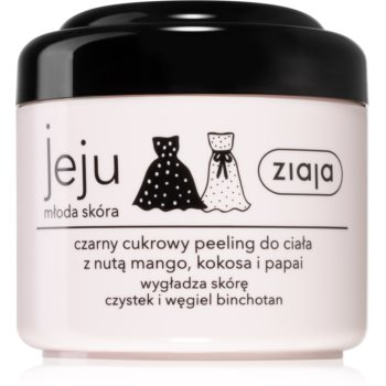 Ziaja Jeju Young Skin exfoliant de corp cu zahãr negru imagine produs