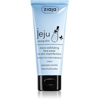 Ziaja Jeju Young Skin pasta pentru exfoliere imagine produs