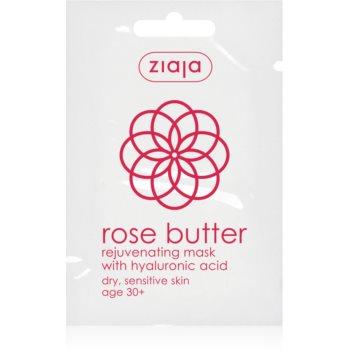Ziaja Rose Butter Masca faciala cu efect de intinerire 30+ imagine produs