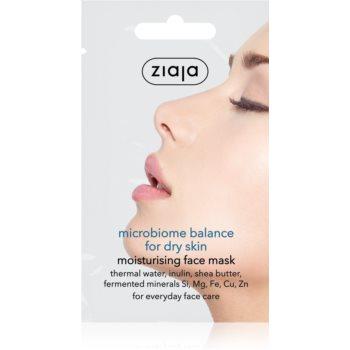 Ziaja Microbiome Balance masca cremoasa hidratanta imagine produs